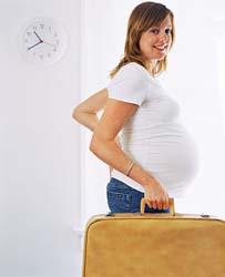 acquisto economico 53632 62bdb Il parto si avvicina, ecco la valigia per la futura mamma da ...