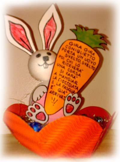 Il coniglietto pasquale easter bunny viva la mamma