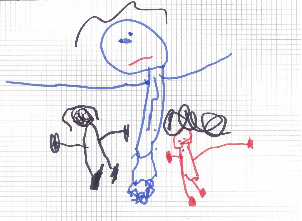 Famoso Il papà nel disegno dei vostri bimbi è gigante? Vuol dire che è  IO36