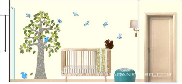 Ecco come decorare le stanze dei bambini viva la mamma - Dipingere la cameretta dei bambini ...