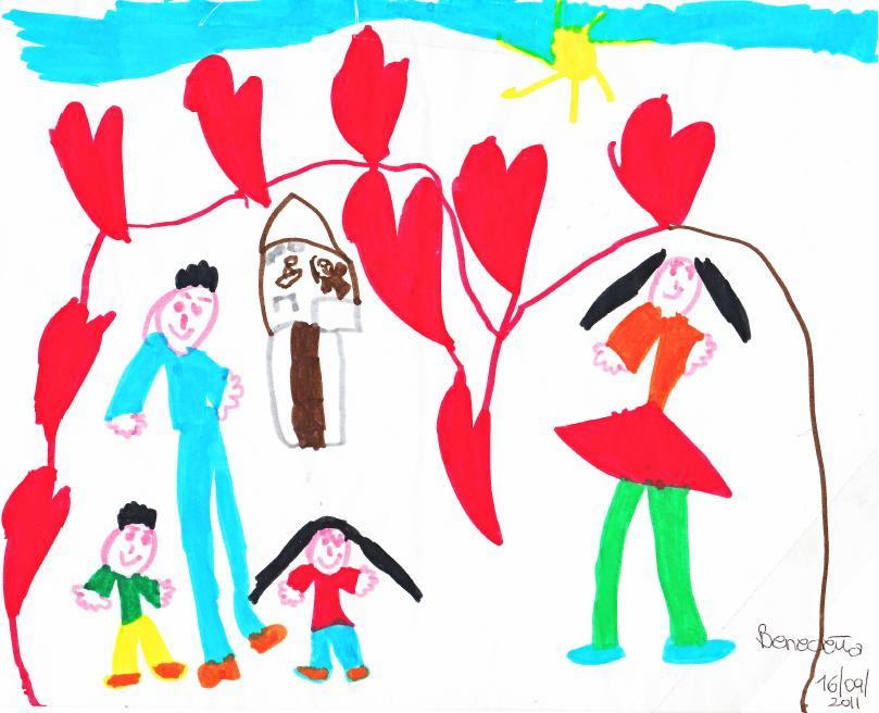 Favorito Quando il papà è al centro del disegno… | Viva la Mamma RM83