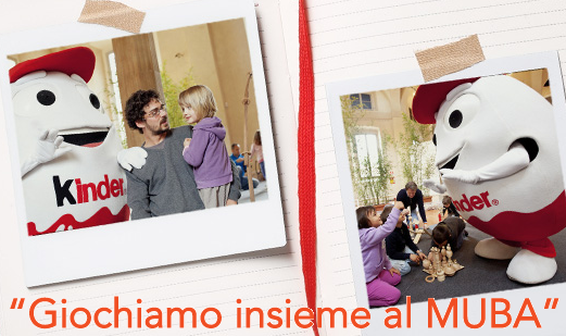 Ferrero porta genitori e figli al muba per giocare insieme for Porta kinder