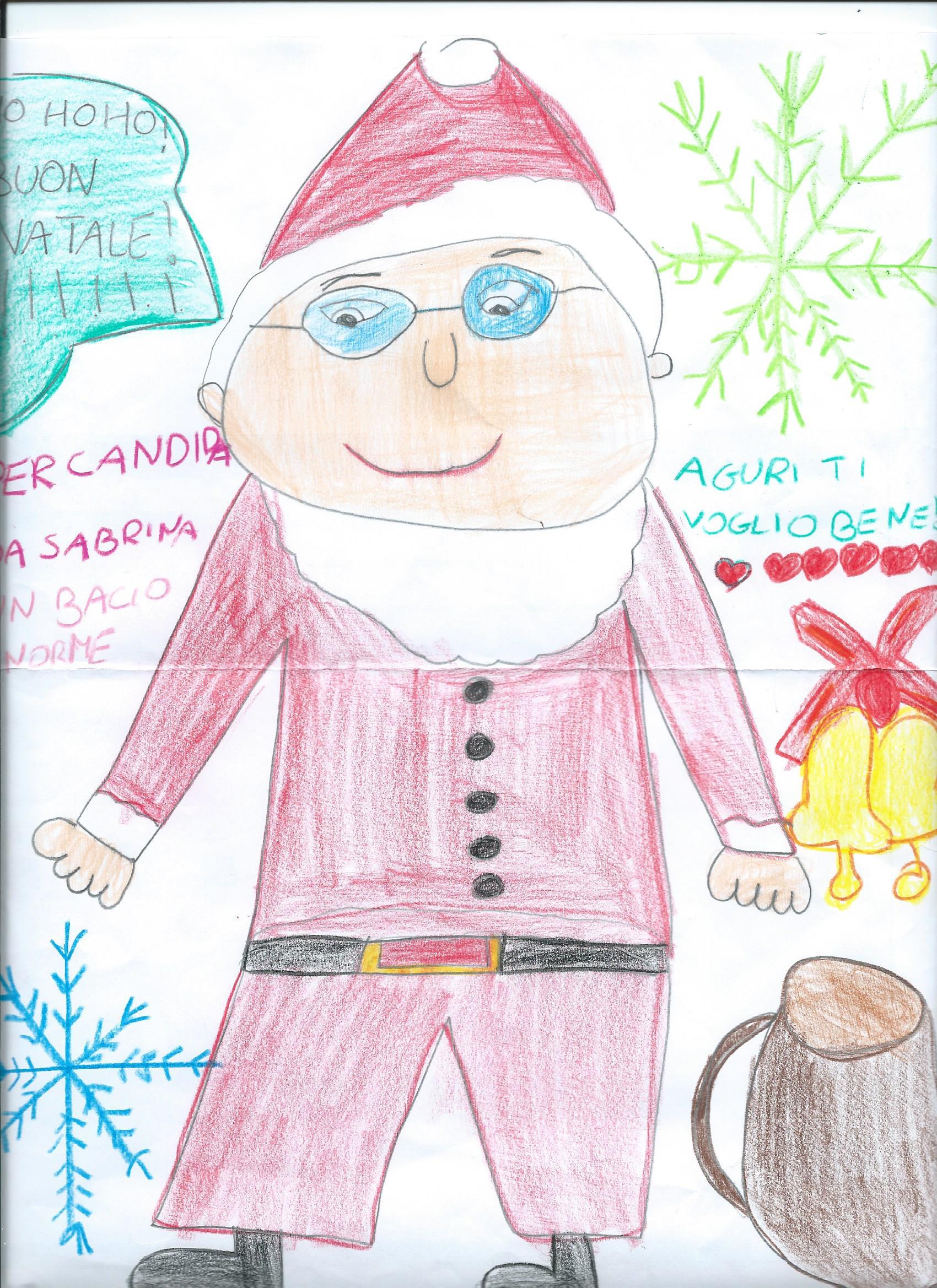 Babbo Natale Nei Disegni Dei Bambini Ecco Cosa Osservare Viva La
