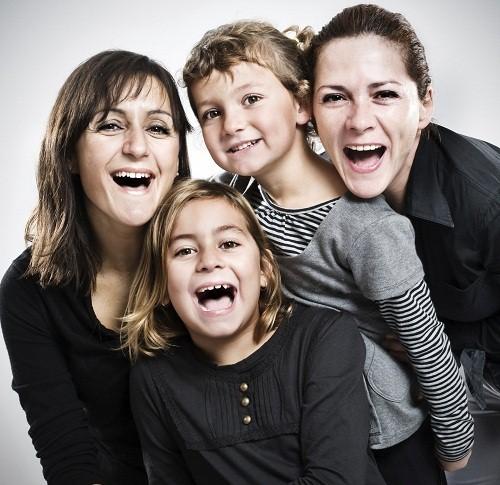bambine con due mamme