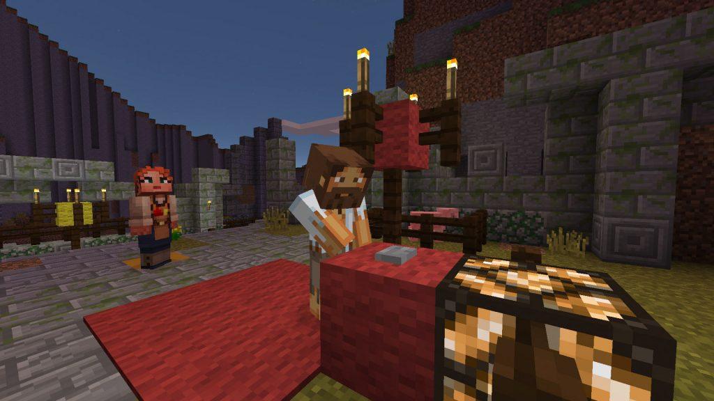 Come Fare Un Letto Su Minecraft : Minecraft i mondi virtuali diventano reali al milan games week2016