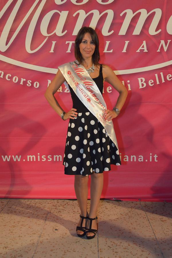 Carmela Balsamo Miss Mamma Italiana ELEGANZA