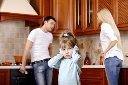 genitori litigio
